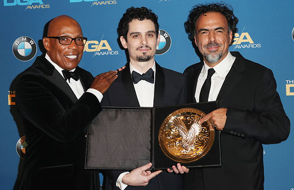 69th DGA Awards Winner Damien Chazelle