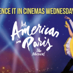 An American in Paris musical playing at cinemas across the UK for one night only