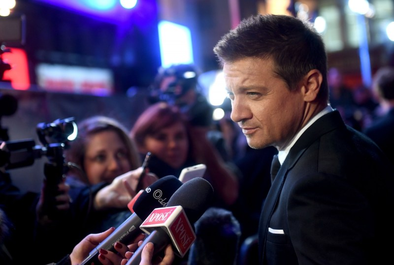 Arrival star Jeremy Renner at the 60th BFI London Film Festival