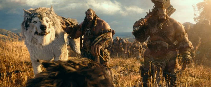 Warcraft production stills