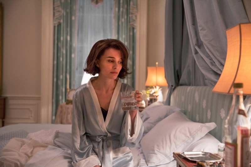Movie star Natalie Portman in BAFTA winning film Jackie