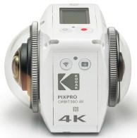 Kiralık Kodak Pixpro Orbit360 4K 360 Derece Video Kamera