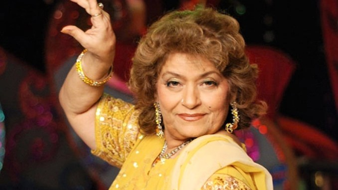 IMG SAROJ KHAN, Indian Dance Choreographer in Hindi Cinema