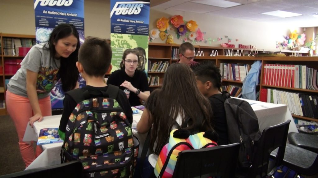 Focus Comic Community Outreach at Amberlea Elementary school a success
