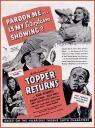 Topper Returns Poster