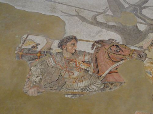 Alexander the Great in his most famous picture!