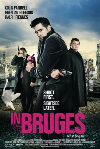 In Bruges Poster. Photo: Wikipedia / © Focus Features