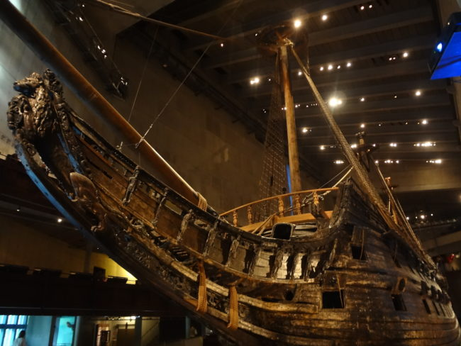 The Vasa ship. © Sonja Irani / filmfantravel.com