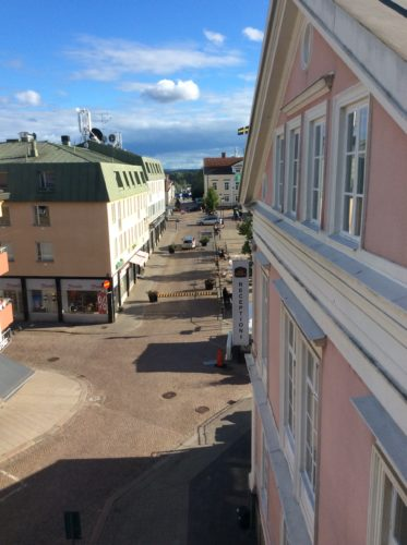 View from my room in Vimmerby. © Sonja Irani / filmfantravel.com