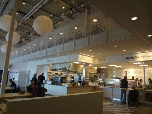 The restaurant at the IKEA museum, Älmhult