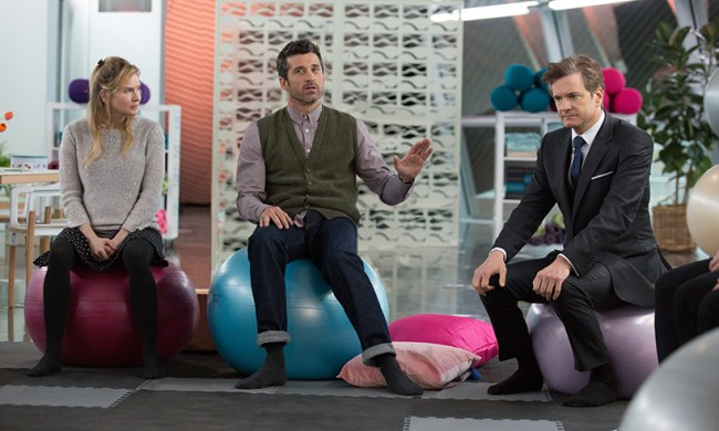 Bridget, Jack and Mark preparing to become parents. © Universal Pictures