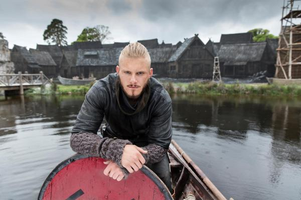 Viking Björn, son of Ragnar, in his hometown Kattegat. Photo: Vikings Facebook Page