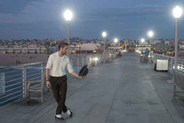 "Scene from ""La La Land"" on Hermosa Beach Pier. Photo: Lionsgate"