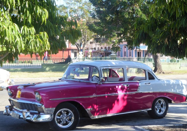 A typical classic car in Cuba. Photo: traveltorecovery.com