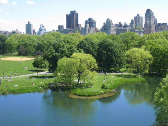 "New York's Central Park – film location for ""Sex and the City"". Photo: filmfantravel.com"