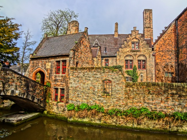 "Bruges, Belgium – film location for ""The White Queen"". Photo: filmfantravel.com"