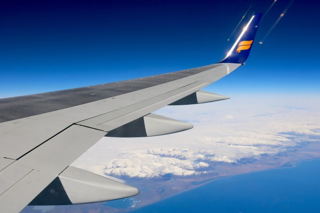 April touchdown with Icelandair