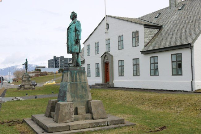 "Iceland's official ""White House"" is a little bit smaller than that in Washington D.C., but nevertheless just as charming."