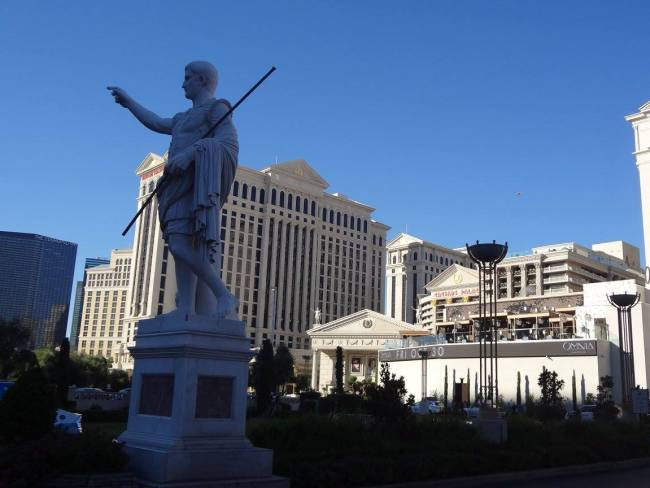"""""""Caesar's Palace"""" in Las Vegas was the setting for """"The Hangover"""" (2009)"""
