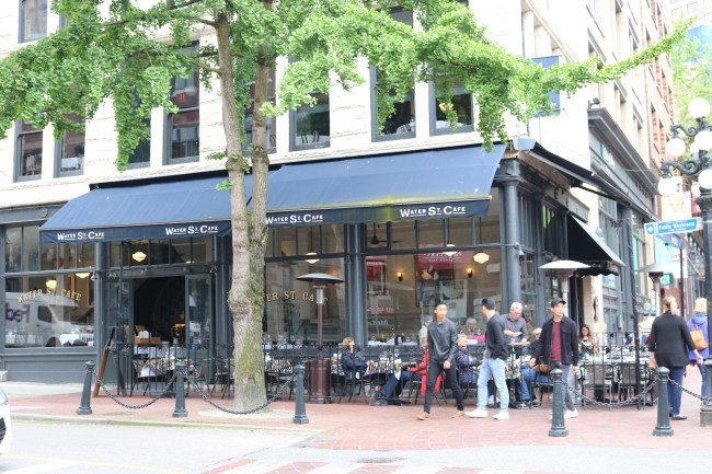 "This restaurant in Gastown was used as a filming location in ""Fifty Shades of Grey"""