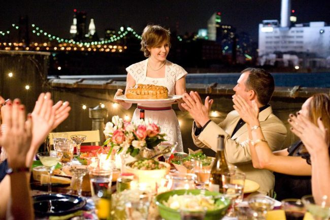 """Scene from New York City set """"Julie & Julia"""". © Sony Pictures"""