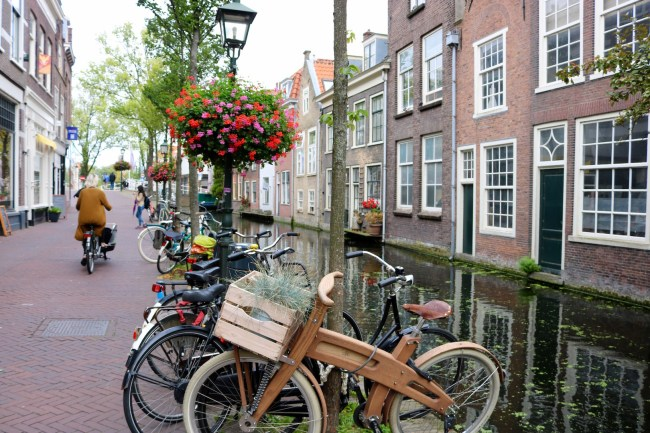 Bicycles in Delft