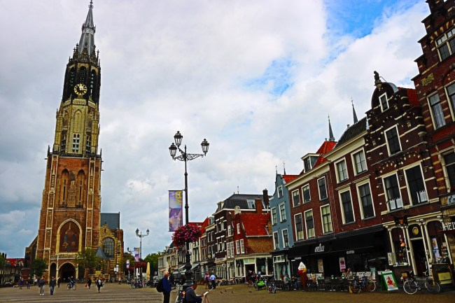 Market Square in Delft, the Netherlands