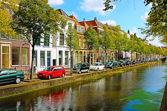 The canal in Delft
