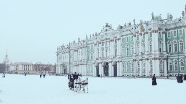 """The British TV mini series """"War & Peace"""" (2016) was shot at the Hermitage Museum. Photo: © BBC"""