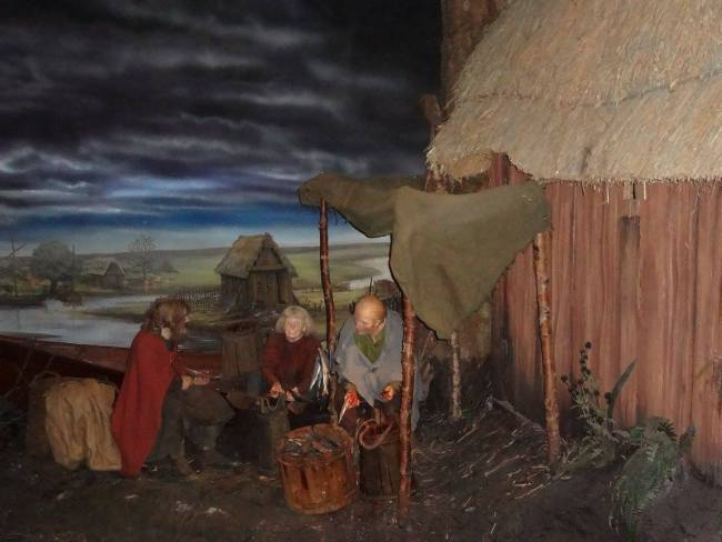 Viking Wax figures at the Jorvik Viking Centre