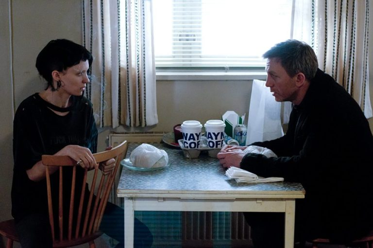 """Daniel Craig and Rooney Mara in """"The Girl with the Dragon Tattoo"""" (2011). Photo: © 2011 Columbia TriStar Marketing Group, Inc."""