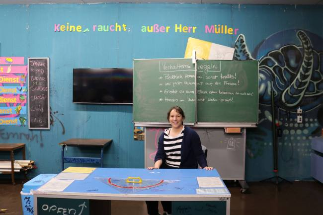"""Me at the classroom from """"Fack Ju Göhte"""""""