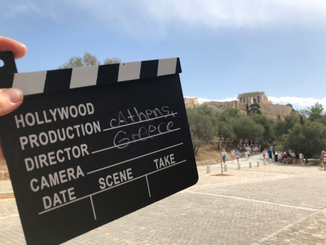 """""""Camera! Lights! Action!"""" Athens as a film location"""