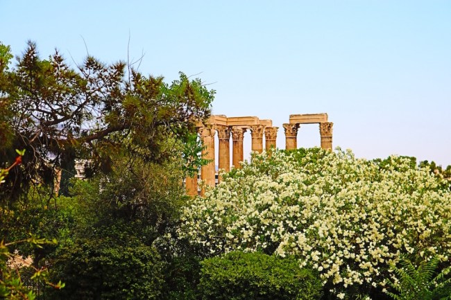 Ruins in Athens, Greece