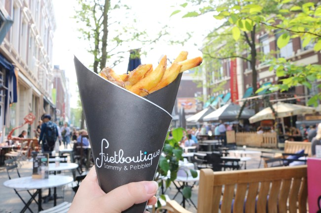 Fries in Rotterdam. Photo: © Sonja Irani / FilmFanTravel.com