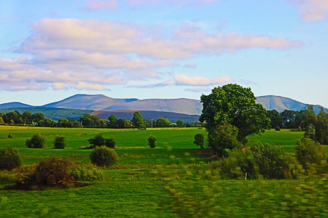 Irish landscape. Photo: Sonja Irani / FilmFanTravel.com