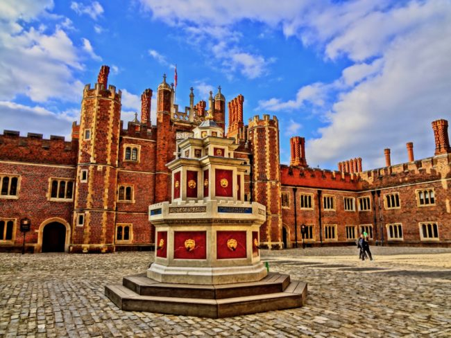Hampton Court Palace. Photo by © Sonja Irani / FilmFanTravel.com