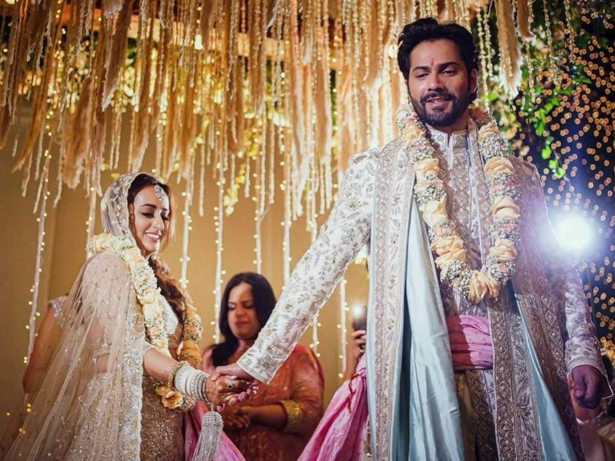 Just in: Varun Dhawan shares first pictures after getting married to Natasha Dalal | Filmfare.com