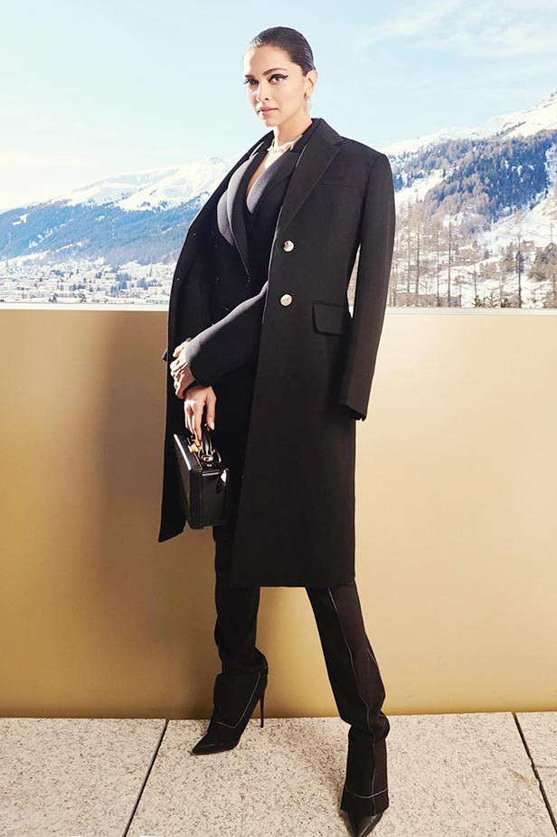 Deepika Padukone's tryst with Black outfits