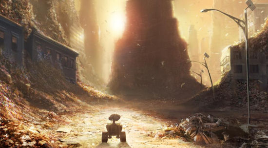 Image result for wall-e garbage