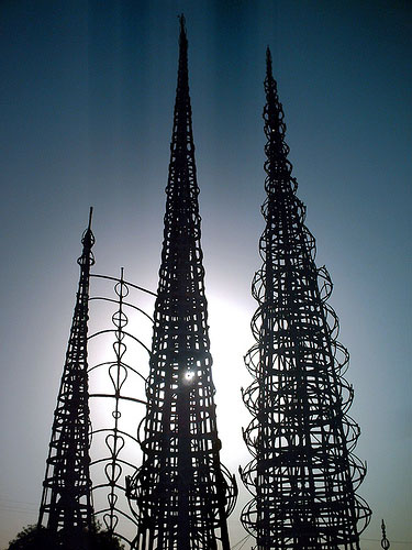 Watts Towers, image from  filmforno.com