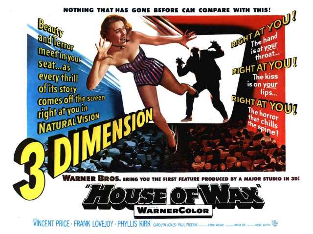 House Of Wax And Creature From The Black Lagoon Plus The Three Stooges In Spooks All In Eye Popping New Digital Restorations