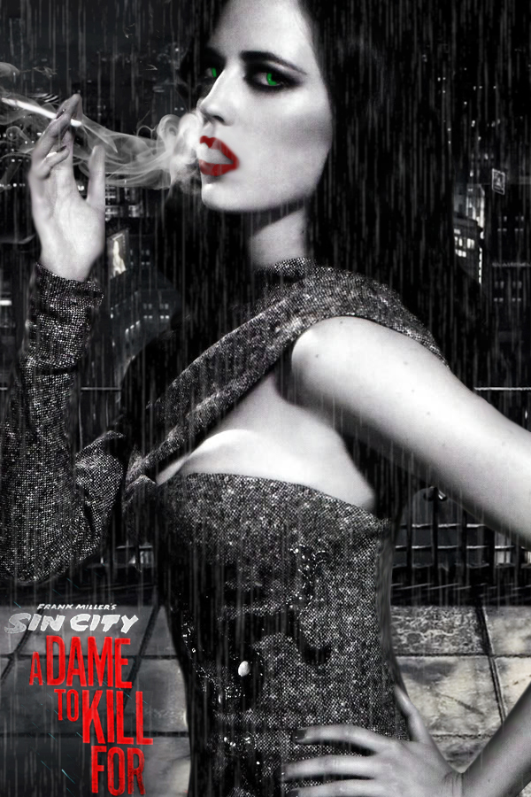 Eva Green is Ava Lord in SIN CITY: A DAME TO KILL FOR
