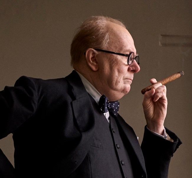 Gary Oldman in THE DARKEST HOUR