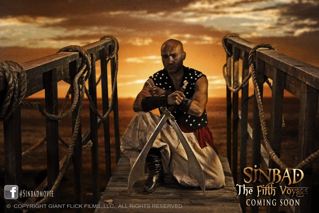 FilmFrak Interview Special: The Sinbad: The Fifth Voyage interview starring Shahin Sean Solimon