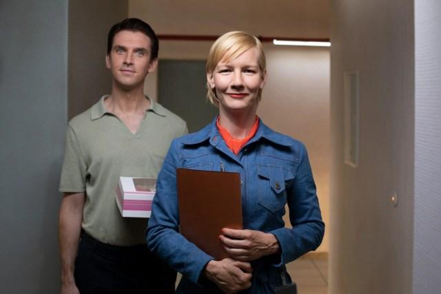 Dan Stevens, Sandra Hüller in Ich bin dein Mensch | I'm Your Man by Maria Schrader | DEU 2021, Competition | © Christine Fenzl