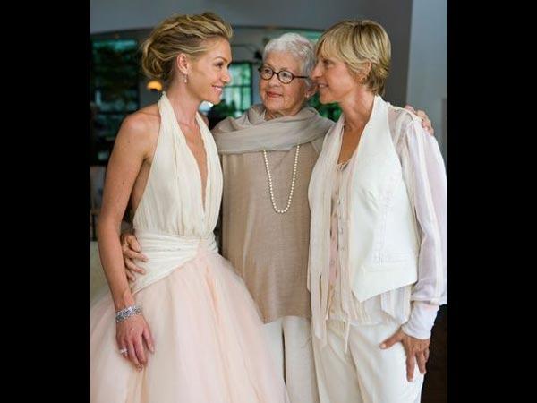 Portia De Rossi's Birthday: Her Romantic Pics With Ellen