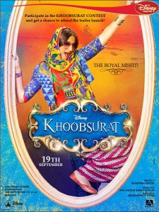 Khoobsurat-2014-First-Look-Poster-Sonam-Kapoor