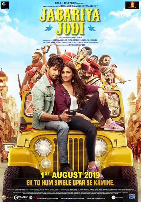 Siddharth And Parineeti Join Hands As 'Jabriya Jodi' for another rib tickling Comedy!