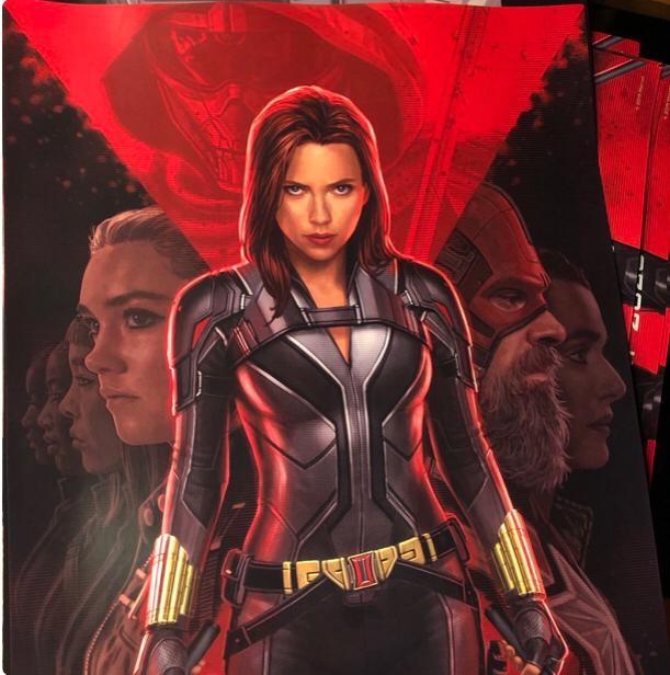 Scarlett Johansson Is Back As 'Black Widow'